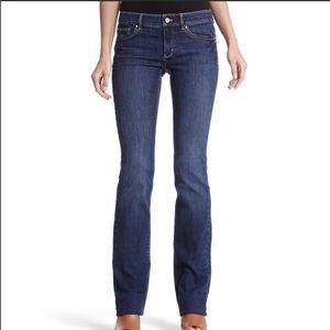 WHBM Darkwash Denim Bootcut Jeans-Size 6s 6 x 32